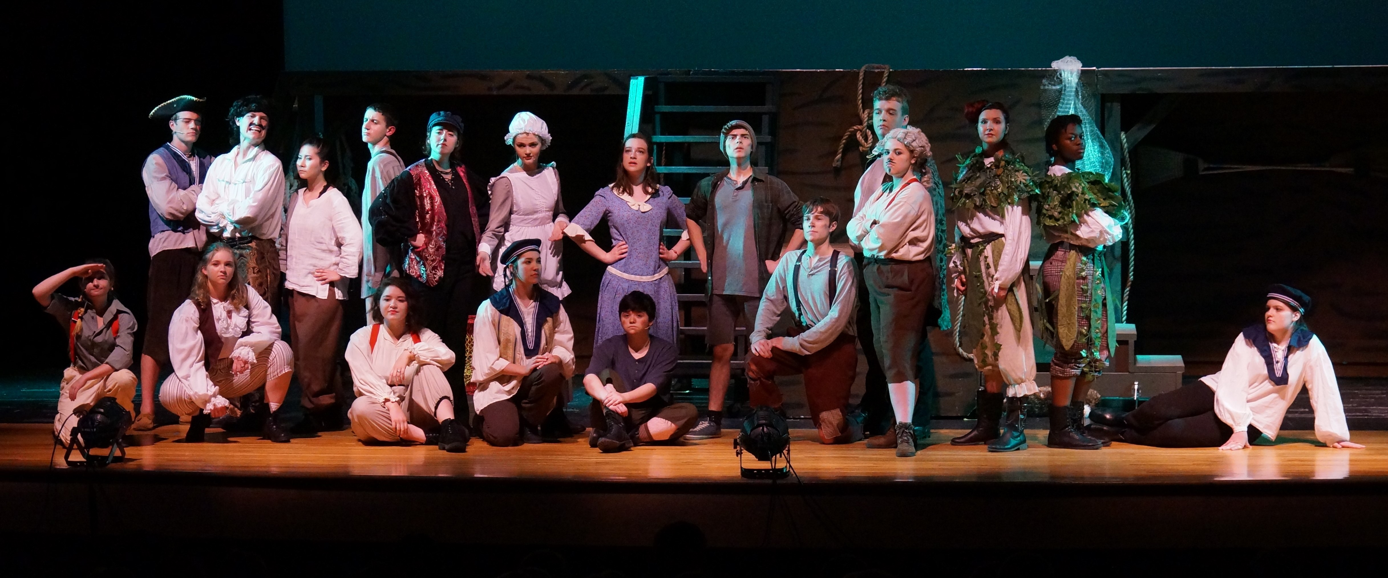 Peter and the Starcatcher, 2018